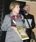 Выступает Кутузова Людмила Алексеевна - главный хранитель Государственного музея истории космонавтик