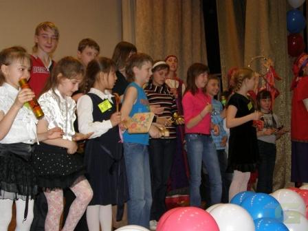 Выступление участников