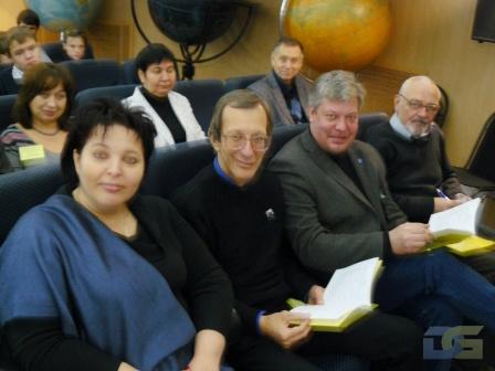 Представители  Мемориального музея космонавтики, г. Москва